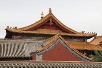 大昭寺琉璃瓦屋脊
