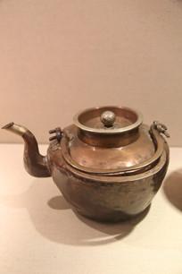 蒙古牧民奶茶铜壶
