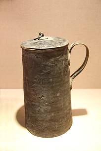 蒙古牧民生活用具奶茶壶