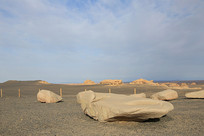 雅丹地质公园岩石区