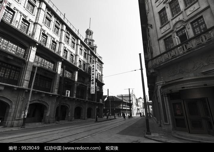 老上海街道 图片