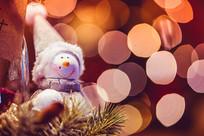 圣诞节雪人装饰