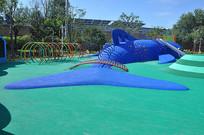 儿童拓展项目之塑胶仿真海豚