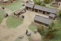 汉代的民居家园模型