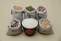 大丰收五谷杂粮大米燕麦