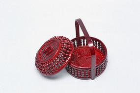 带盖食盒传统手工艺