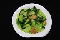 家常菜清炒小白菜