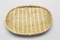 竹编扁篮子