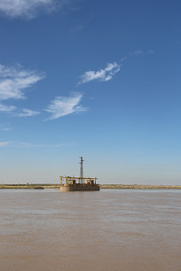 黄河水利灌溉闸口