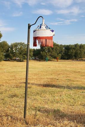 蒙古族室外路灯