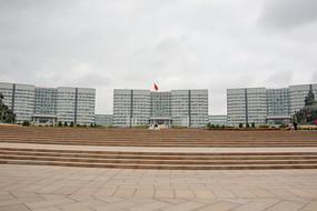鄂尔多斯广场政府大楼