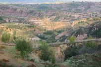 黄土高原沟壑地貌