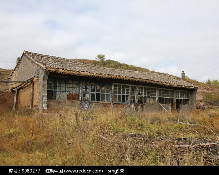 农村危房废弃的房屋图片