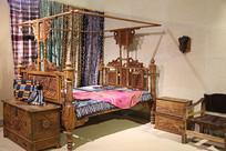 非洲木雕卧室家具