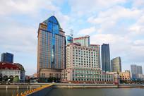 上海苏州河畔海湾大厦海鸥饭店