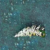 抽象羽毛图片素材