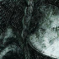 黑色墨水渲染渐变图形