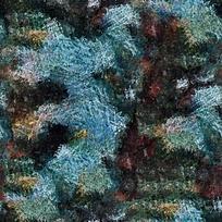 绿色抽象油画背景
