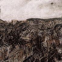 天然复古黑纹理背景图