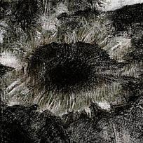 天然水墨复古黑色渲染