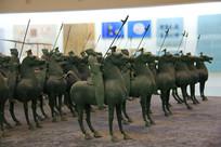 青铜马执矛战队