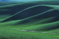 天然草场形状
