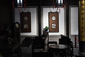 张石铭故居会客厅