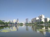 雁滩公园风景