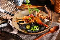 美味大虾摄影图
