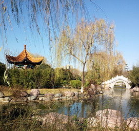 公园人文景观图片