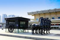 马车景观雕塑
