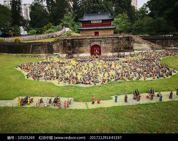 深圳锦绣中华天下第一阁建筑图片