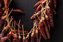 成串的红辣椒