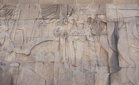 上海人民英雄纪念塔革命史浮雕