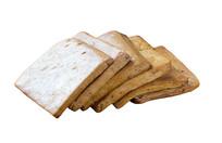 传统美食卤豆干抠图白底图片