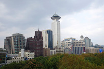 上海城市高楼大厦