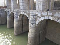 老式河道水闸