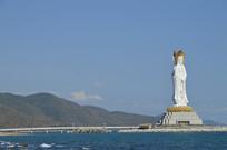 海南南山寺观音雕像