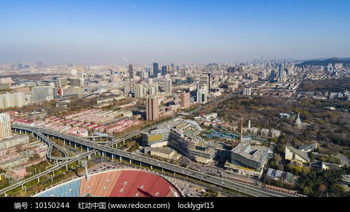 济南城市建筑群图片