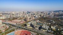 济南城市建筑群