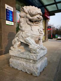 石雕石狮子