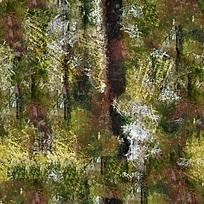 树林油画背景