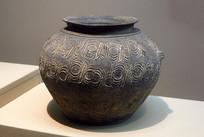 西周印纹硬陶罐