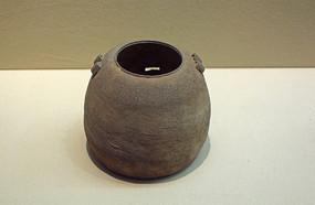 战国印纹硬陶罐