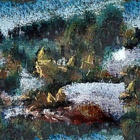 抽象油画背景