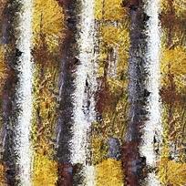 树木抽象油画