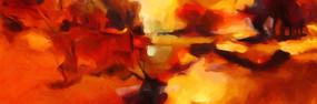 现代抽象油画艺术