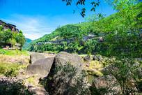 赤水河河床巨石