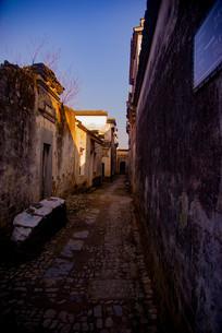 安徽南屏古村落街道