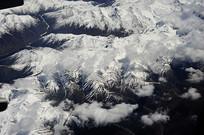 白色天山山脉